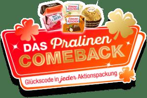 Pralinen Comeback Logo