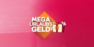 Mega-Urlaubsgeld Logo