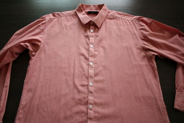 DIY men's shirt to top (2)