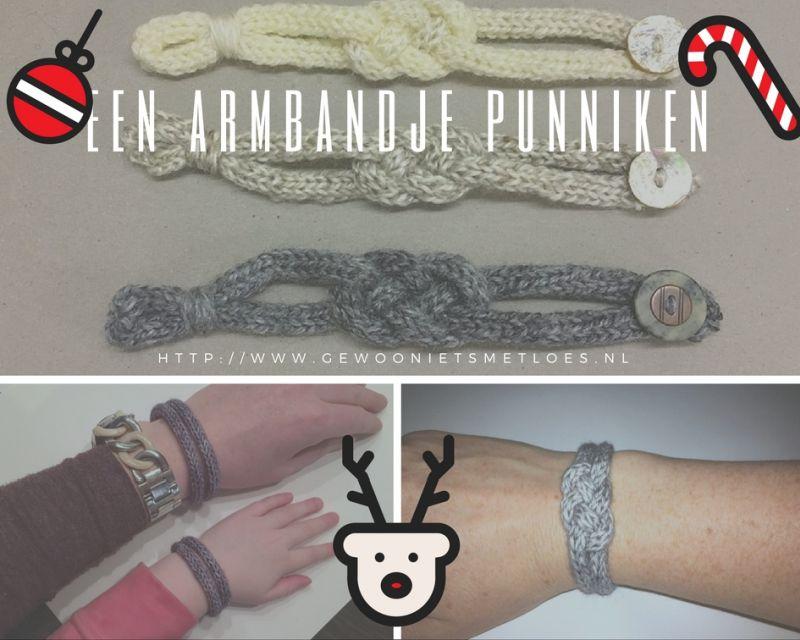 een armbandje punniken
