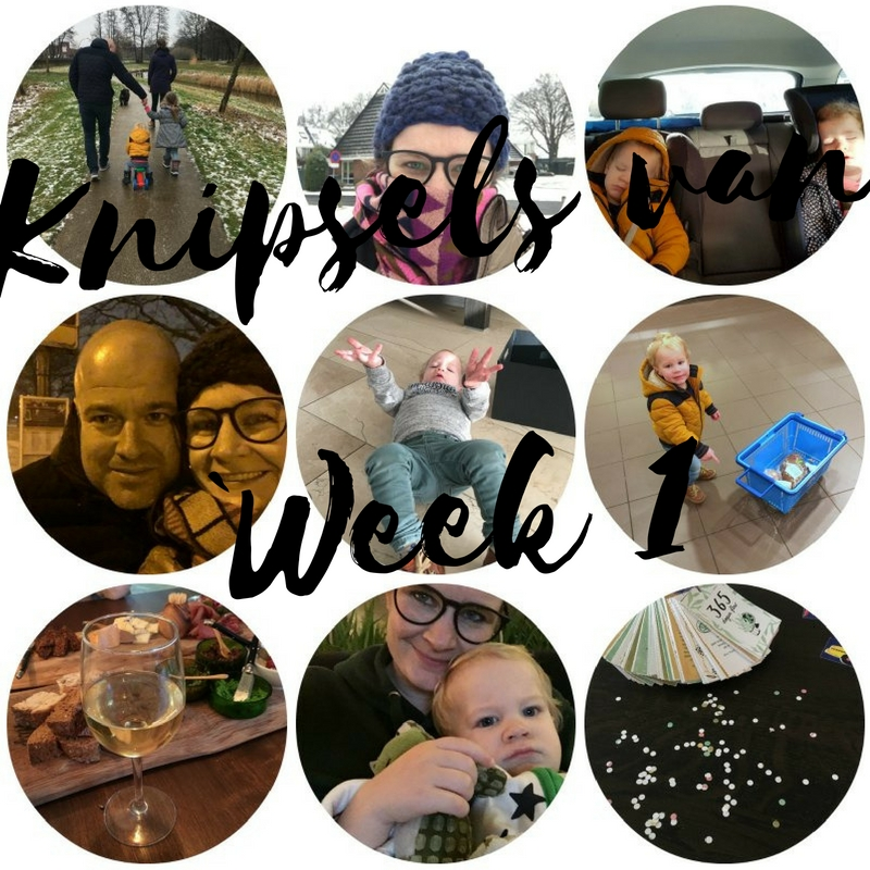 knipsels van week 1
