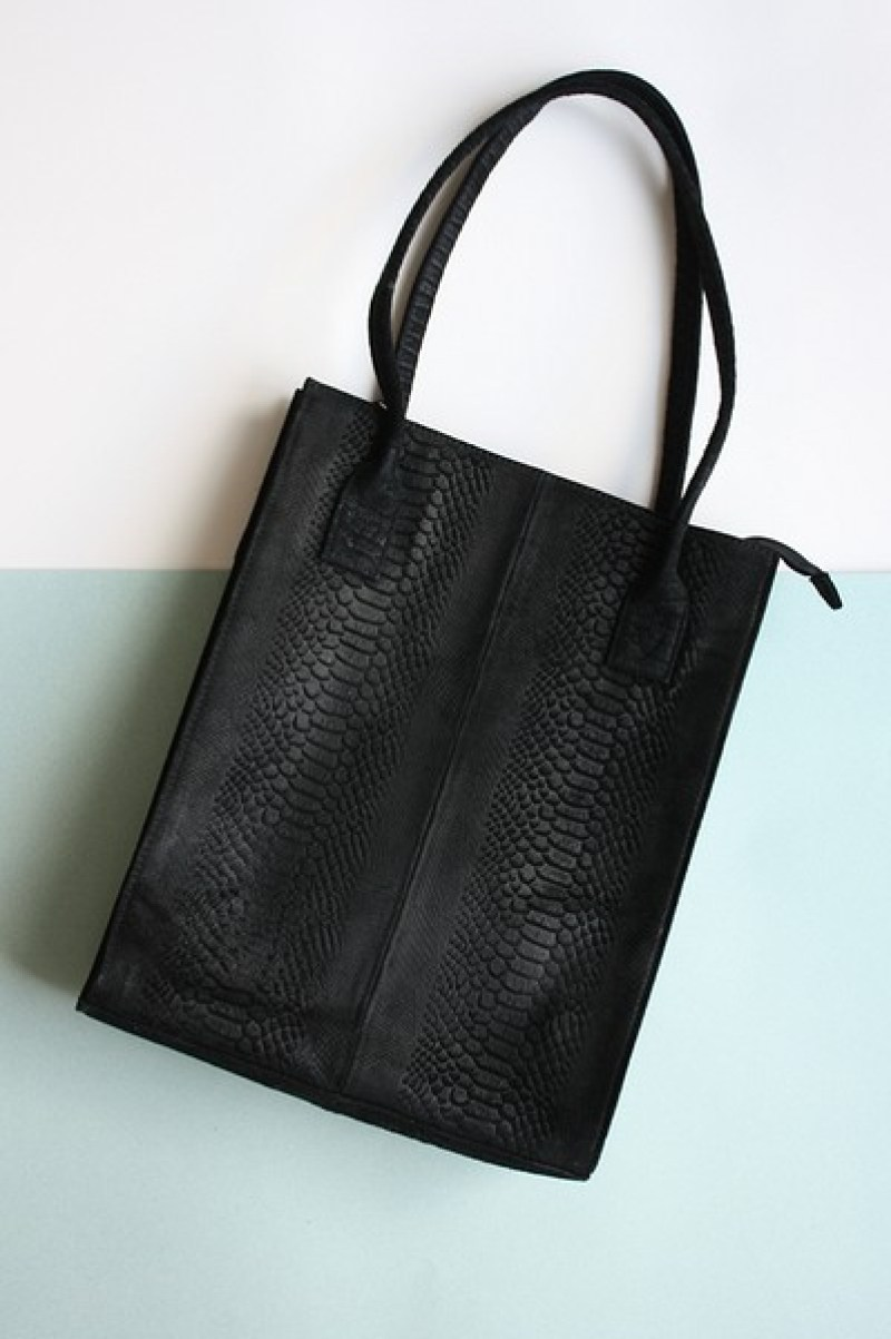 DSTRCT Portland Road Leren Dames Shopper (1)-
