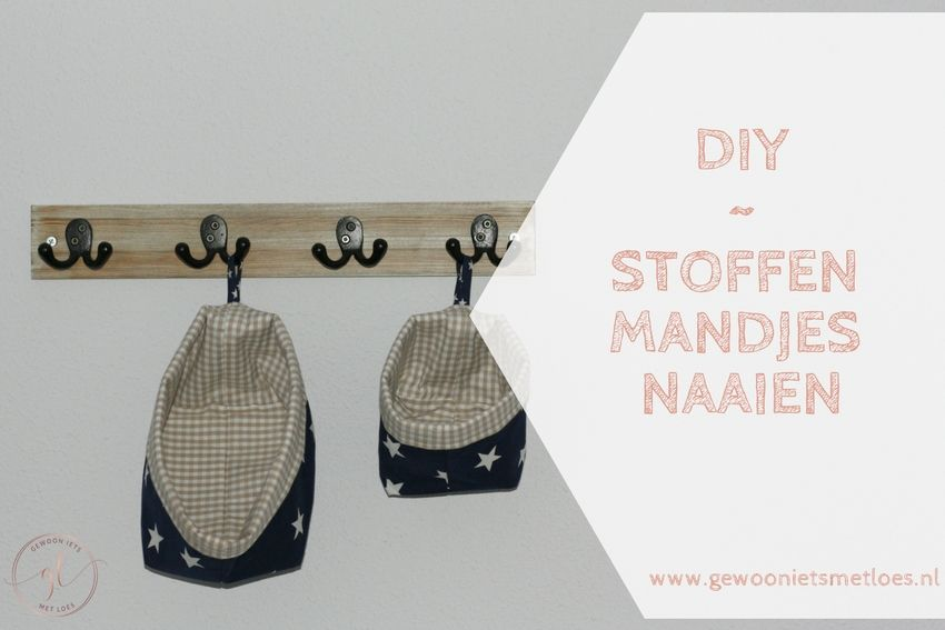[:nl]DIY - Stoffen mandjes naaien[:en]stoffen mandjes naaien[:]