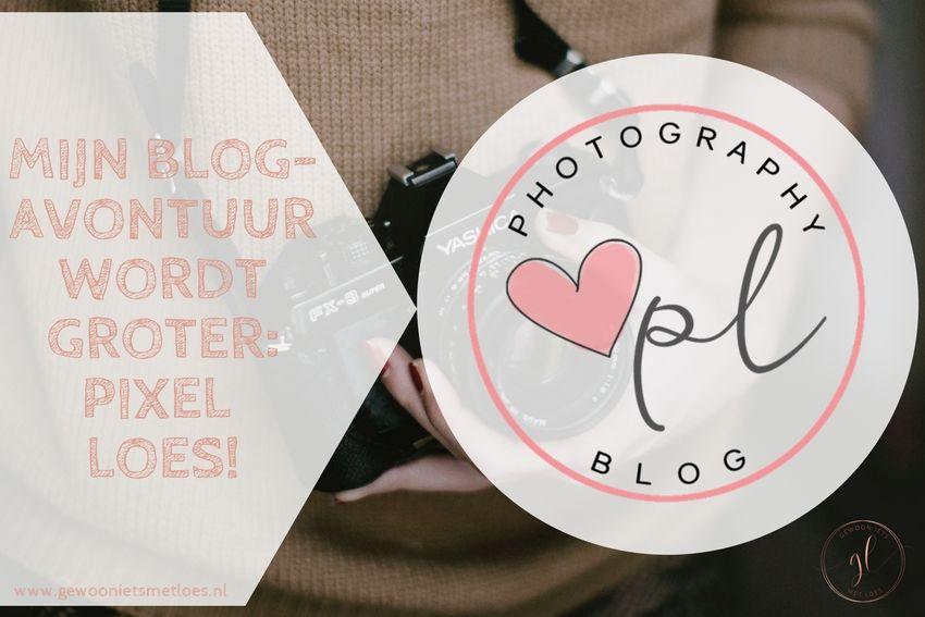 [:nl]Mijn blogavontuur wordt groter: Pixel Loes![:]