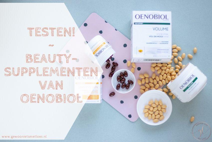 [:nl]Beautysupplementen van Oenobiol | Ik ga ze testen![:]
