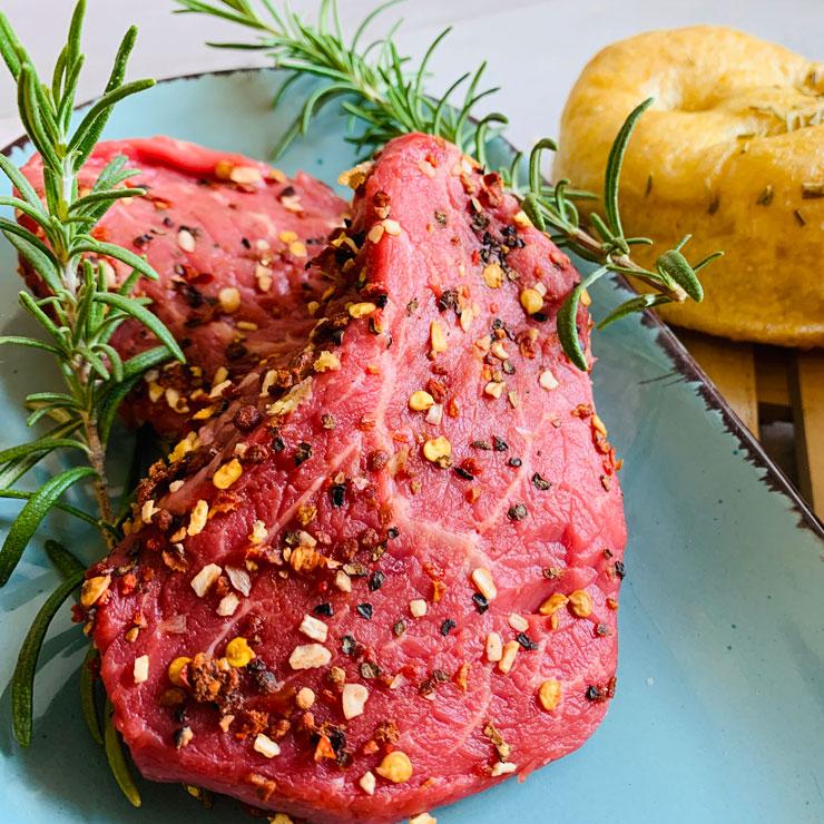 Steak-mit El-Gaucho gewürz