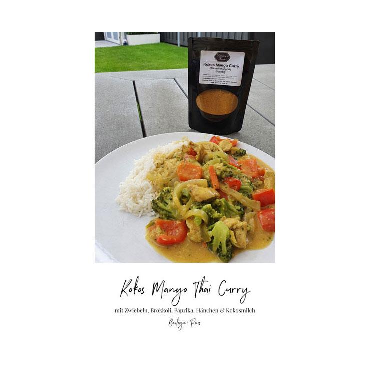 Kokos-Mango-Curry