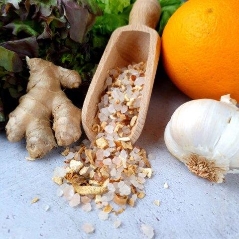 Orange Ingwer Salz