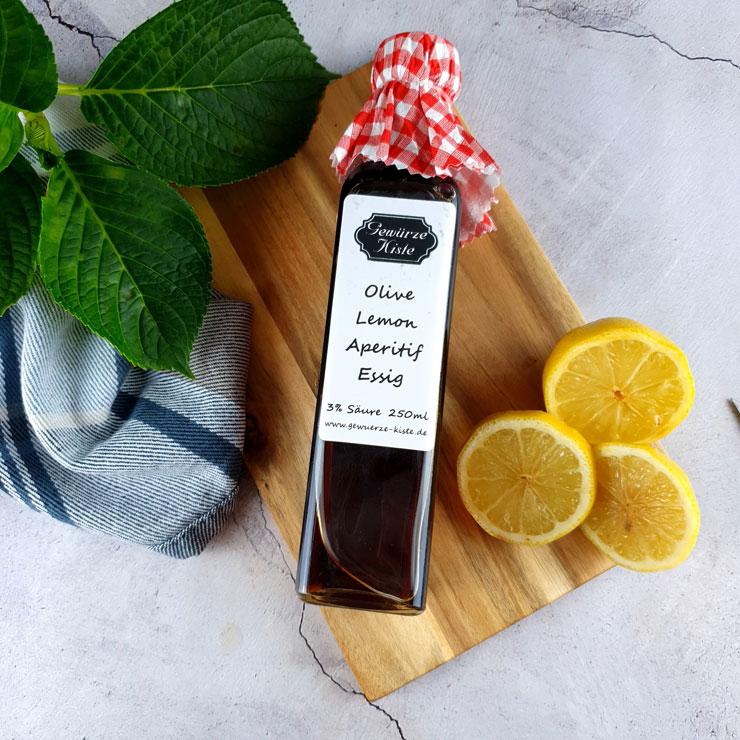 Olive-Lemon-Aperitif-Essig