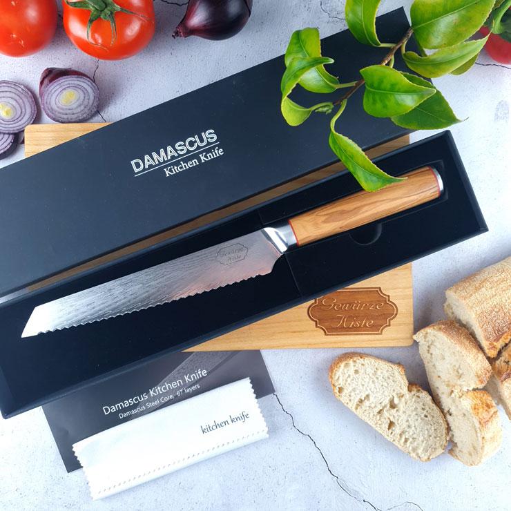 Damascus Brotmesser