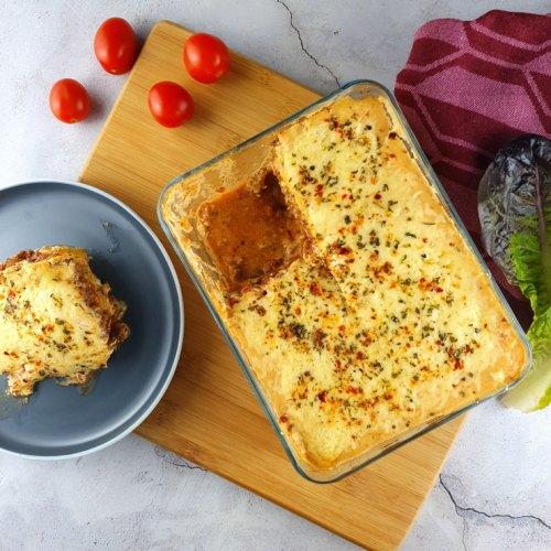 Zuccini-Lasagne
