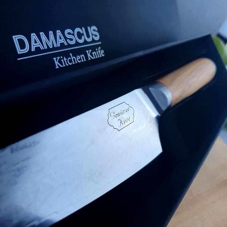 Damast Chef-Messer mittel