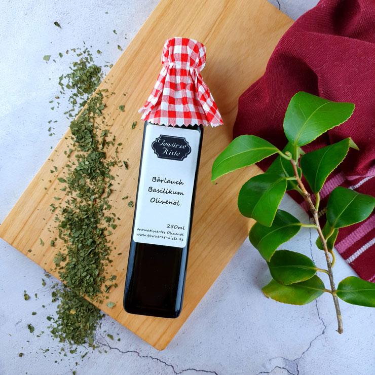 Bärlauch Basilikum Olivenöl