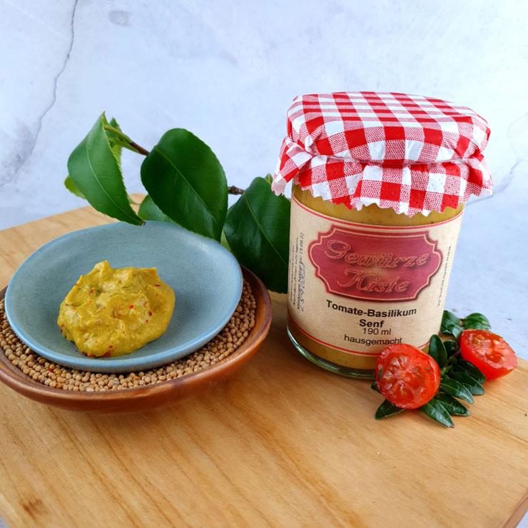 Tomate Basilikum Senf