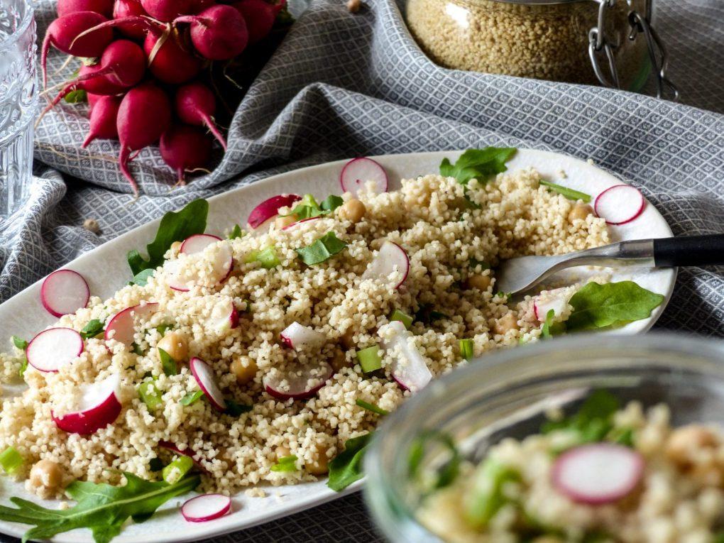 Couscous Salat vegan Rezept