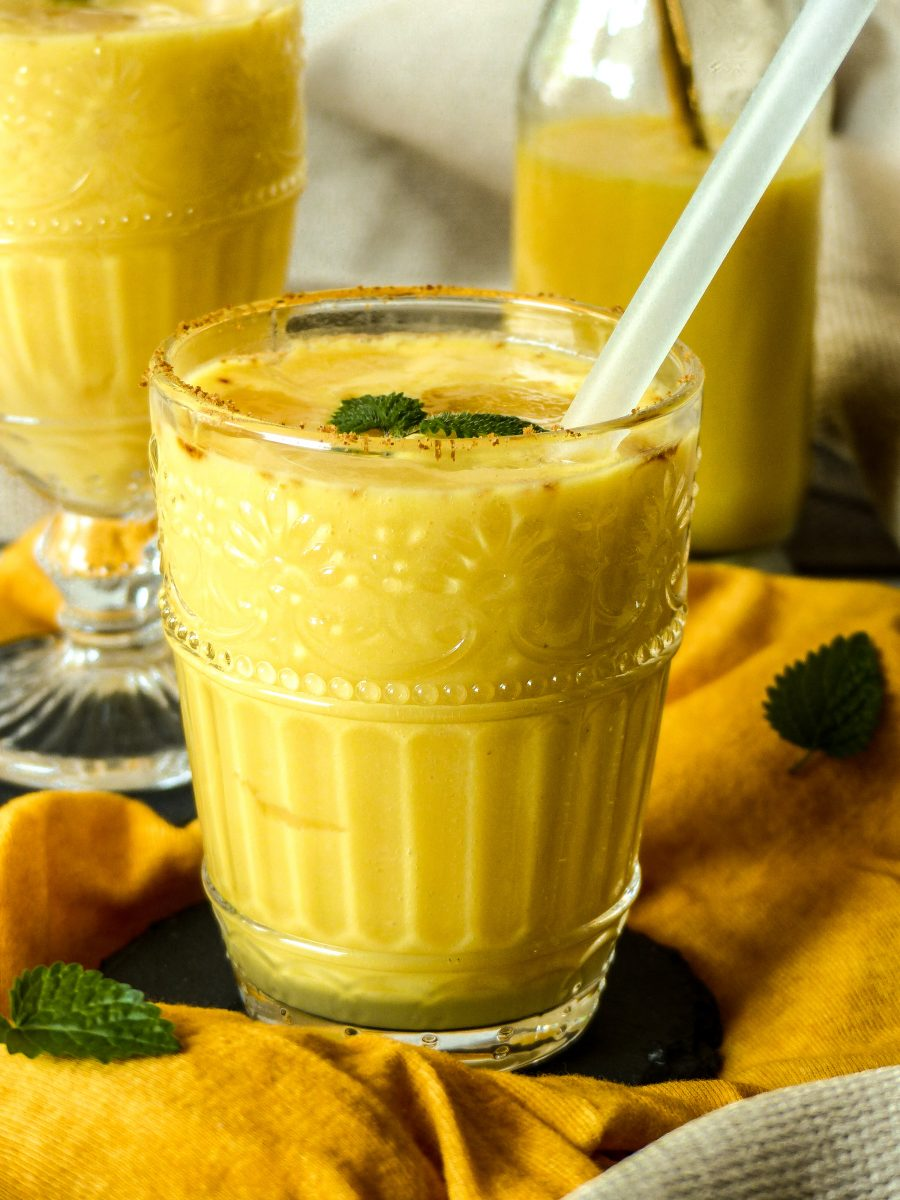 Rezept Golden Mango Lassi vegan