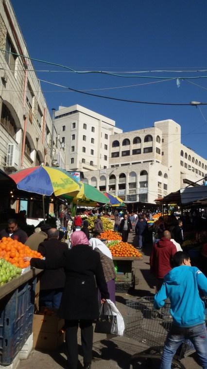 Markt in Ramallah