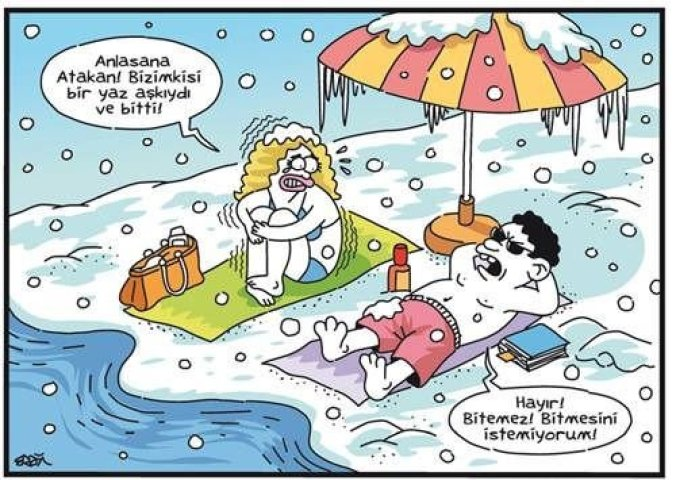 Kışın Balayına Çıkan Çiftler 4