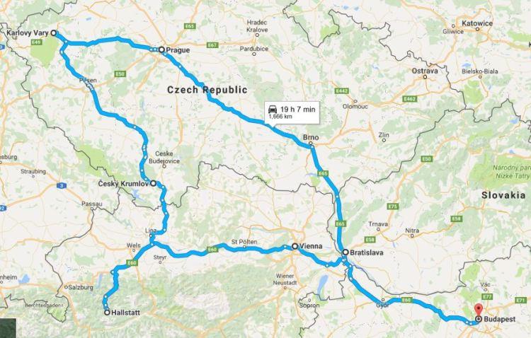 Orta Avrupa Rotası