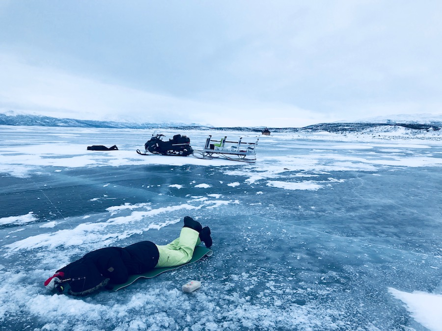 Abisko Ice Fishing