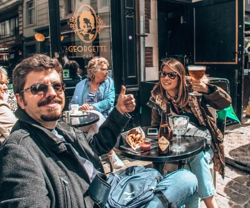 Brüksel'de gezilecek yerler - Külahta Patetes Keyfi :)