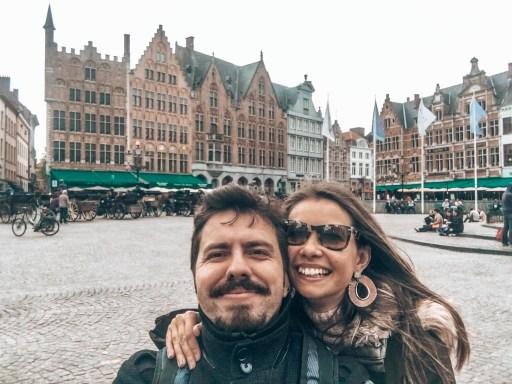 Brugge'da Gezilecek Yerler - Grote Markt