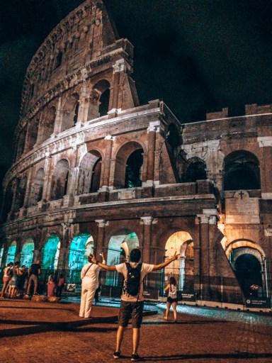 Roma'nın dev arenası kolezyum ( colosseum)