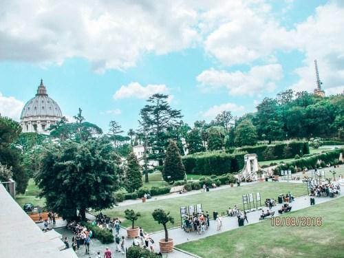 Vatikan Bahçeleri Roma