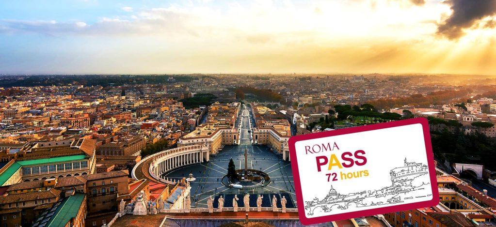 Roma Gezilecek yerler listesini tamamlamak için kullanılan bilet Romapass
