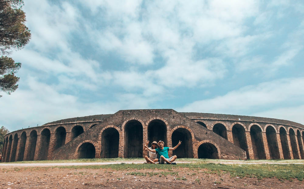 Pompei Antik Şehri Amfi Tiyatro