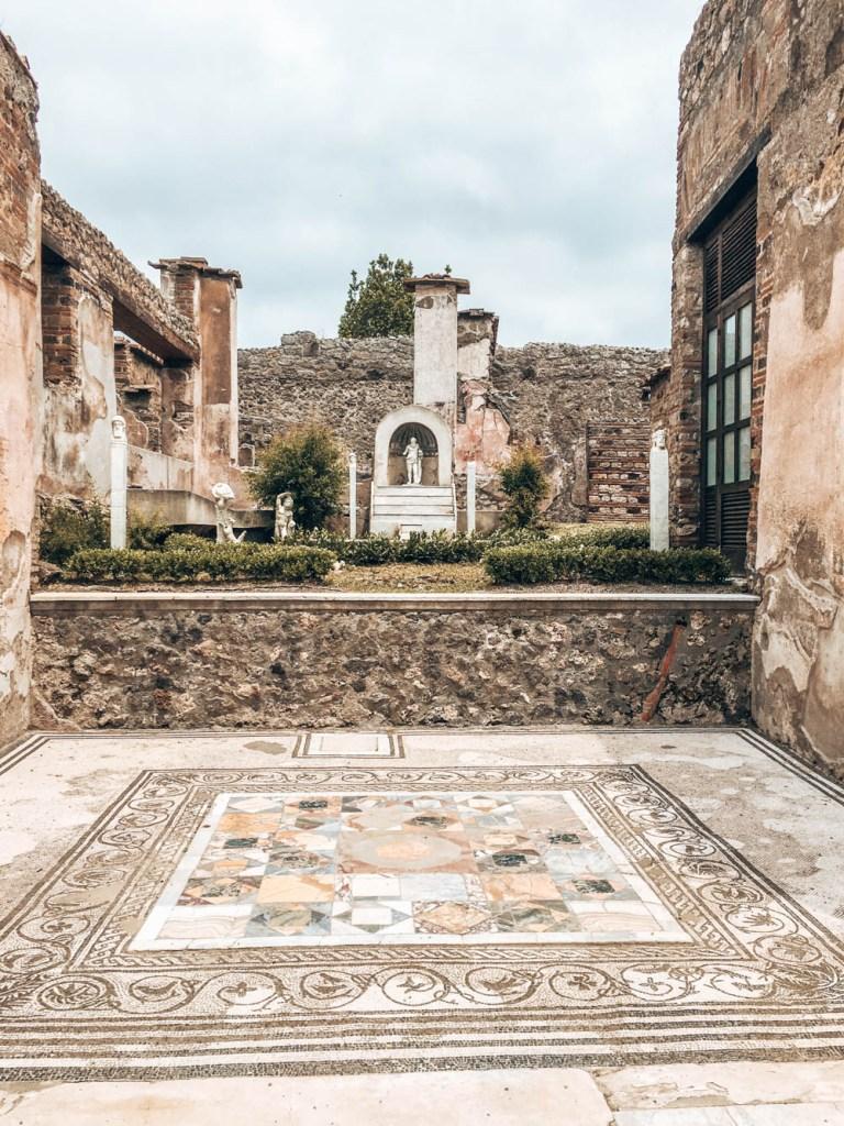 Pompei Evlerindeki Mozaikler