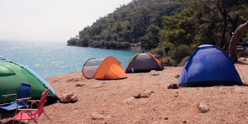 Çadırını kapan geldi! Sahiller çadır kente döndü