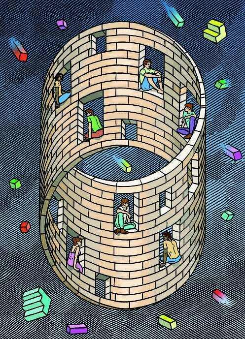 illusie toren