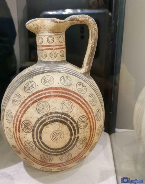 Aziz barnabas arkeoloji müzesindeki kalıntılar
