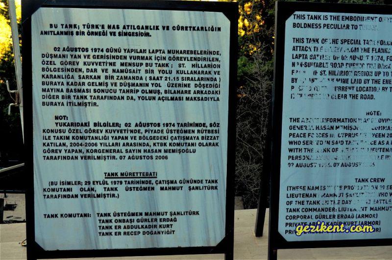 Kıbrıs Tank Gezi Rehberi