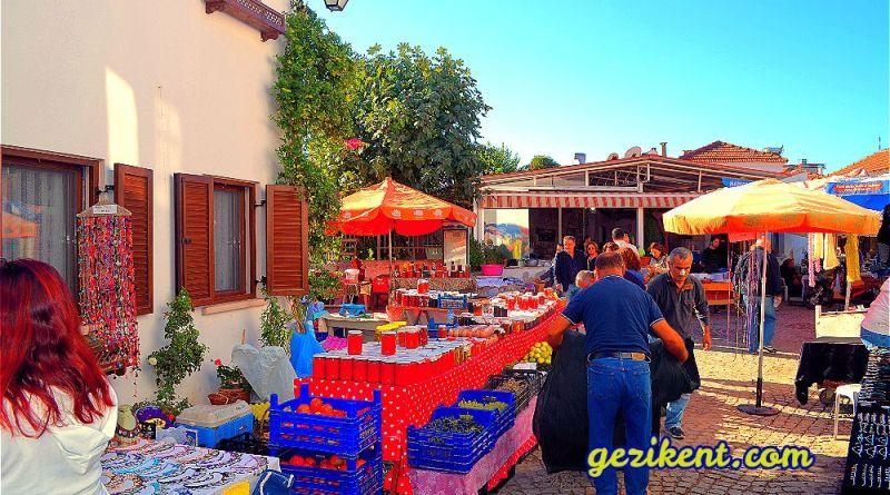 Ege'nin En Ünlü Çarşısı; Sığacık Üretici Pazarı
