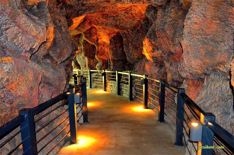 Konya kelebek bahçesi yapay mağaralar