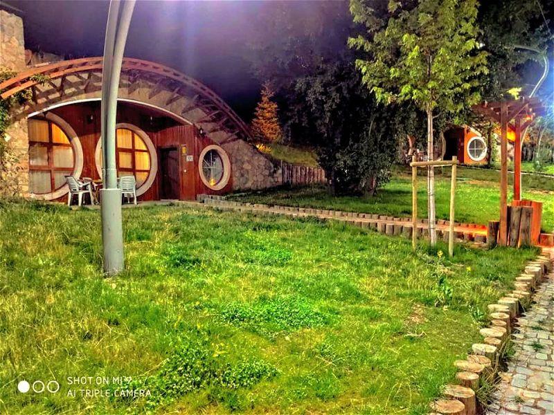Sivas yamaç evleri Hobbit evleri