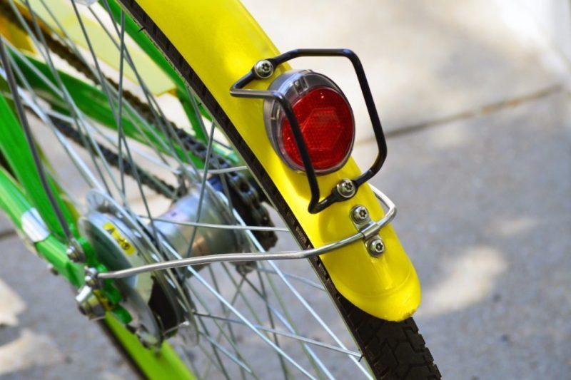 bisiklet reflektör