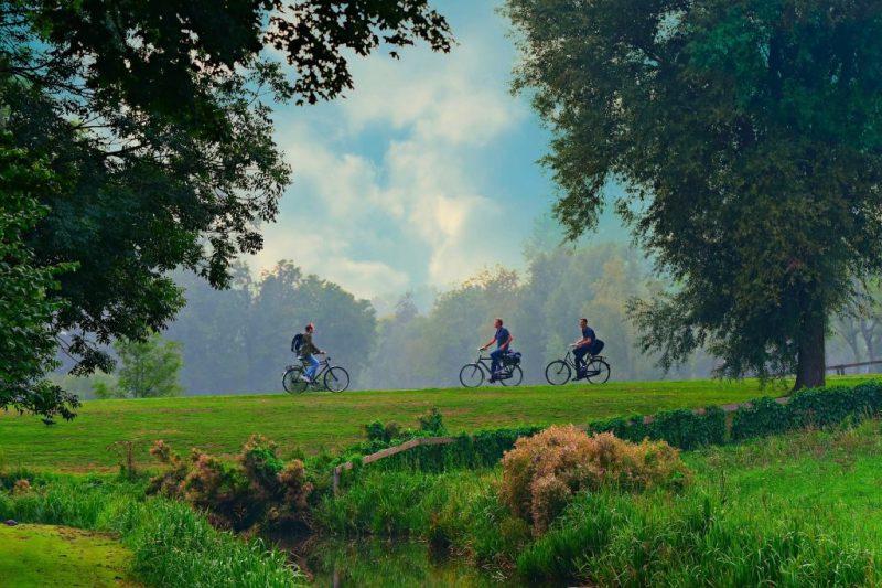 bisikletle doğa gezisi