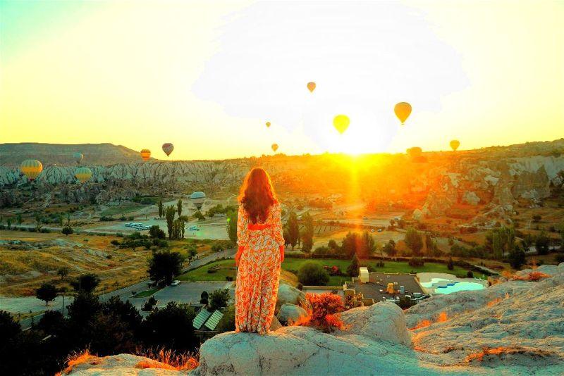 Türkiye'de Güneşin En Güzel Doğduğu ve Battığı Yerler-kapadokya