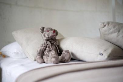 Peuter wilt niet slapen, een knuffelbeer helpt!