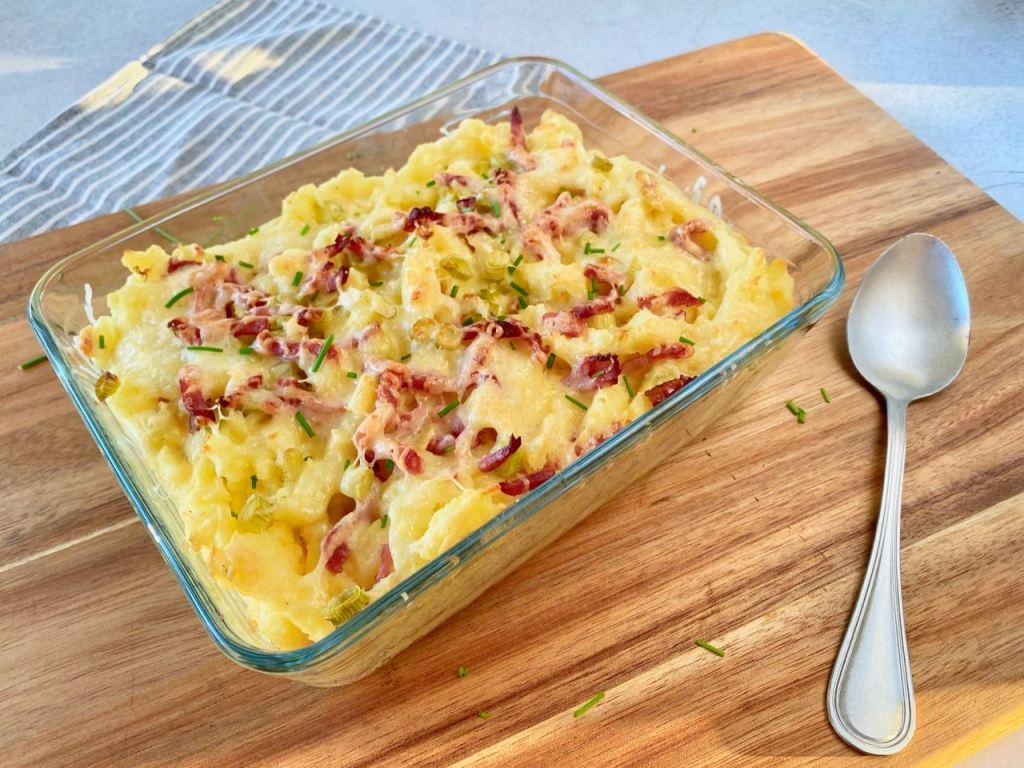 Aardappelpuree recept met bacon