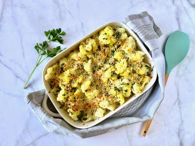 Ottolenghi stijl bloemkool uit de oven