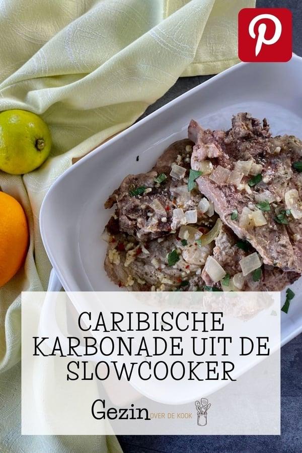 Caribische karbonade pinterest