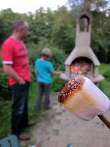 Warme marshmallow