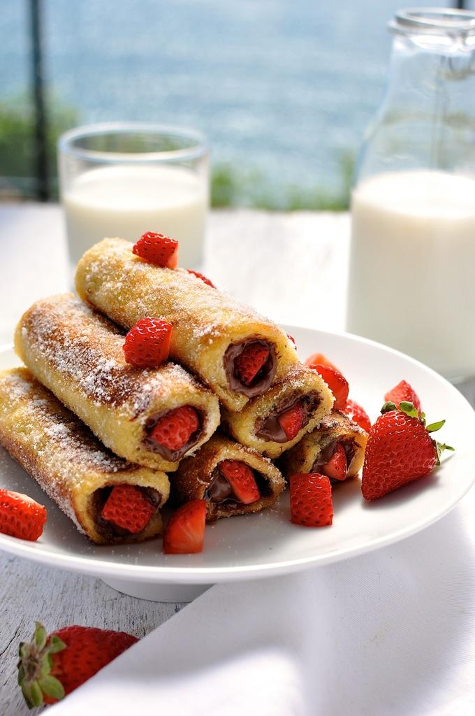 Een heerlijk Nutella ontbijt- of brunchrecept