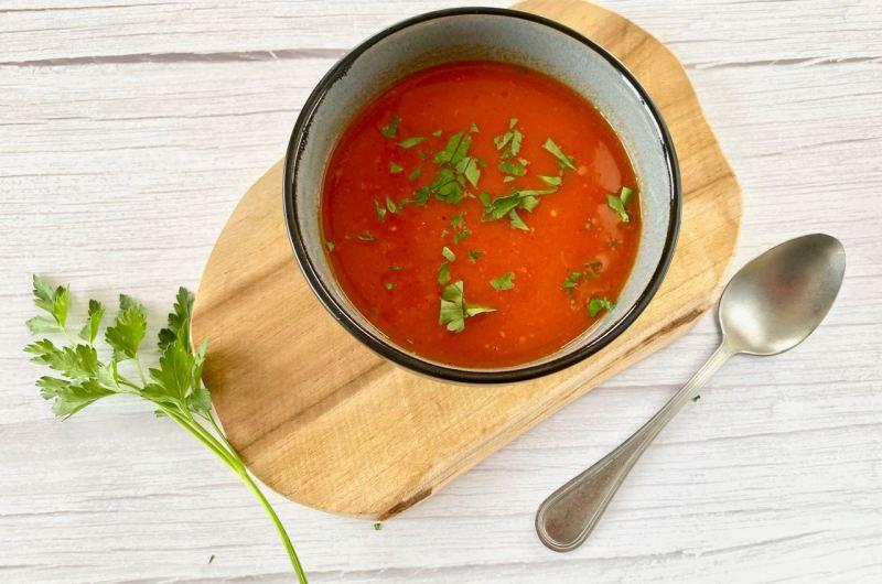 Basisrecept tomatensoep