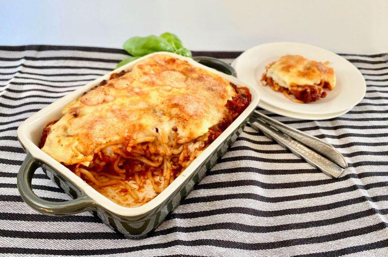 Kids proof: spaghetti uit de oven (mét groenten!)