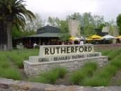 Rutherford lokantası, California